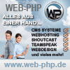 W-P CMS Portale Shoutcast Stream Webhosting TS3 Templates
