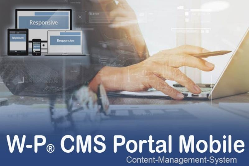 W-P CMS Portal Mobile Update 1.08 vom 22.01.2020