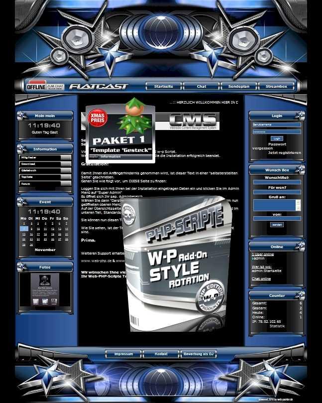 A Paket 1 - Template Gesteck  Template-Blau 001_TG_set