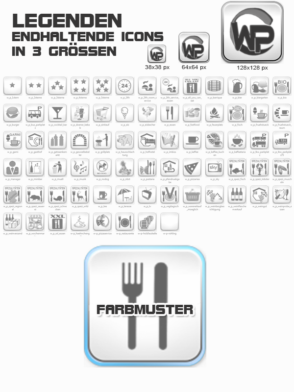 Icons Essen - Trinken Template-Blau 001_fi_essen_trinken