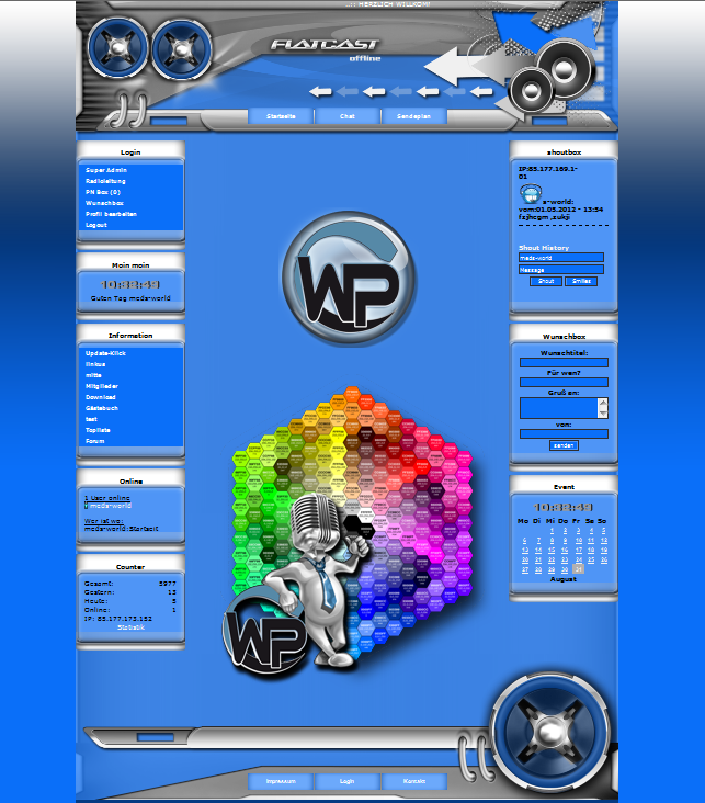 Multi Color Template-Blau 001_multicolor_w_p