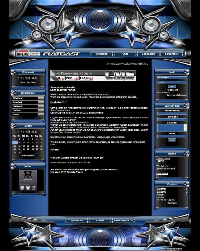 Stars  Template-Blau 001_stars_01