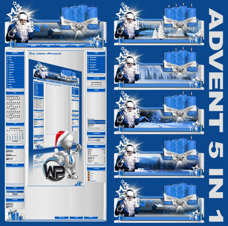 Advents Template 5in1 Template-Blau 001_w-p_advent5in1
