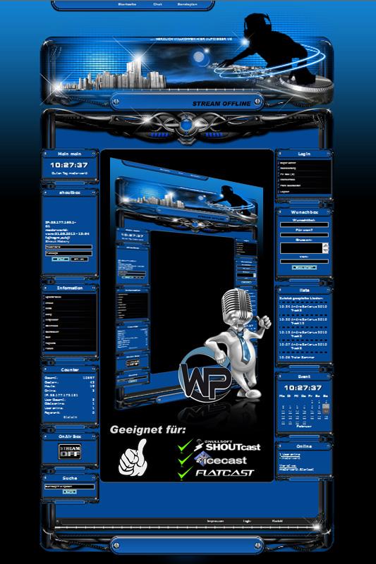 DeeJay Template-Blau 001_w-p_deejay