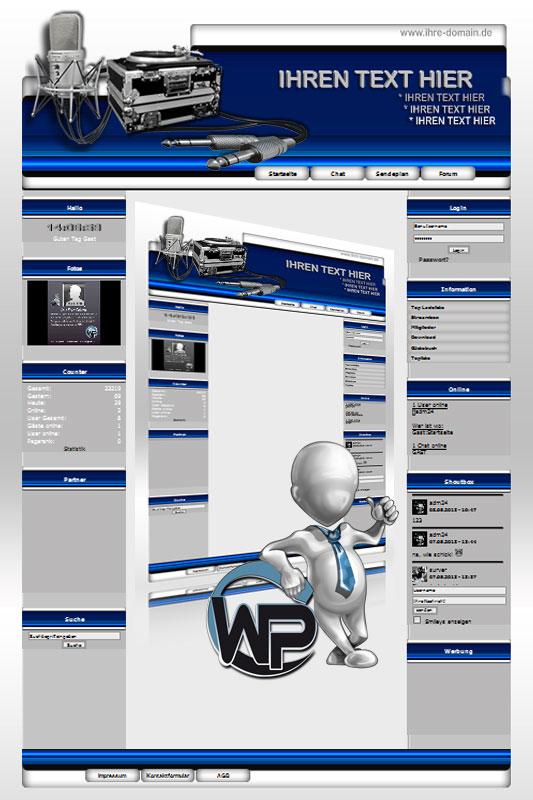 Ideal Standard: Musik Template-Blau 001_wp_musik_01