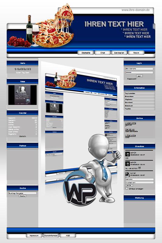 Ideal Standard: Pizza Template-Blau 001_wp_pizza_01
