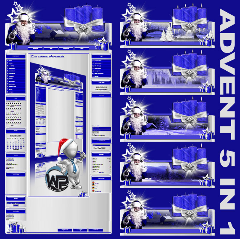 Advents Template 5in1 Template-Lila-Blau 002_w-p_advent5in1