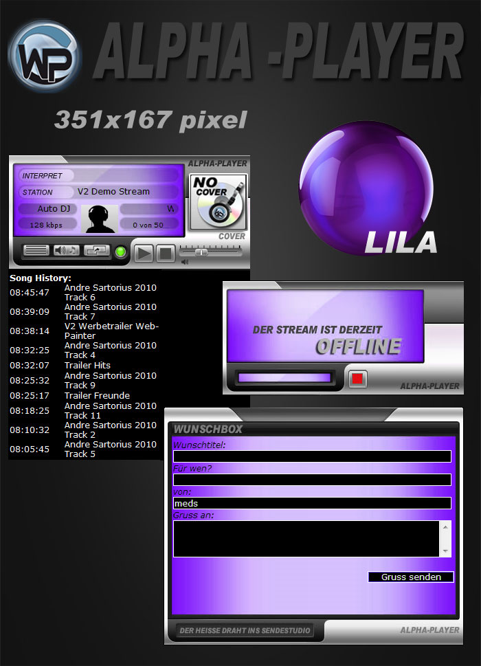 Alpha Player COVER Template-Lila 003_alpha_mcd_cover