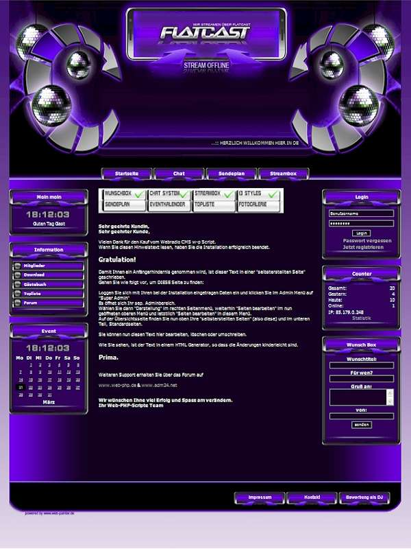 Disco Template-Lila 003_disco_w-p