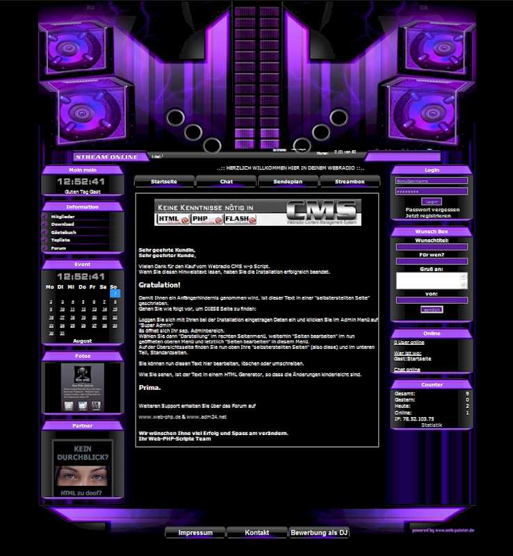 Power Template-Lila 003_w-p-power