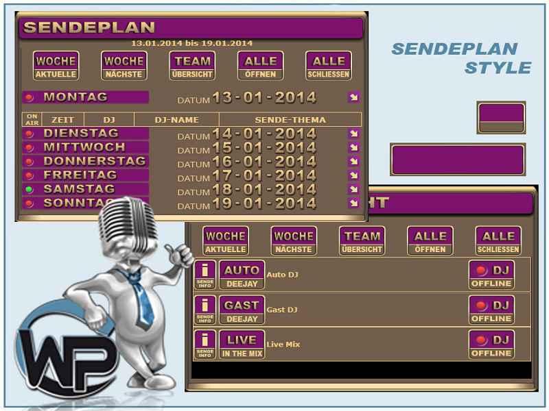 Sendeplan Template Template-Pink 004_sendeplan_set05