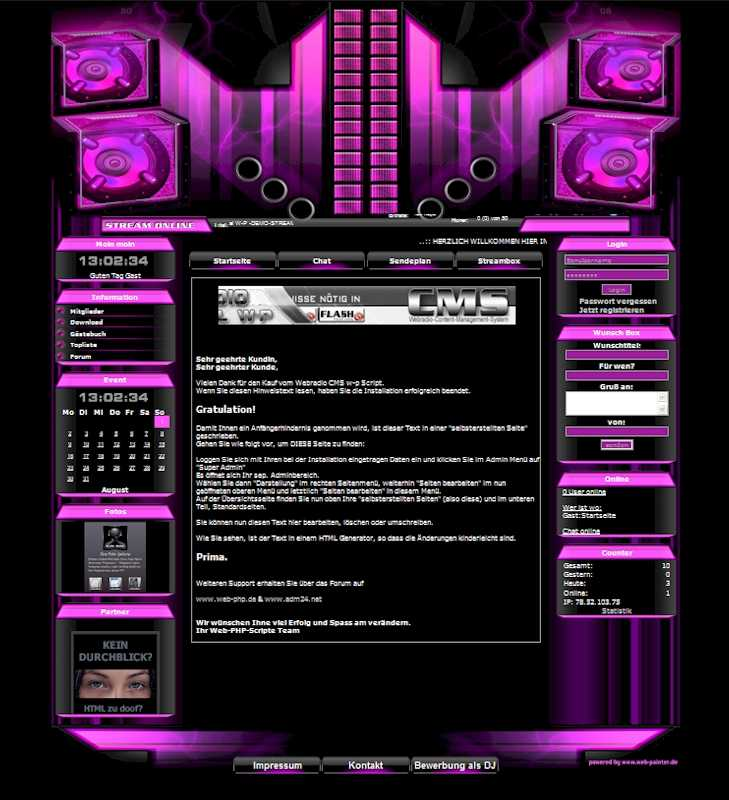 Power Template-Pink 004_w-p-power
