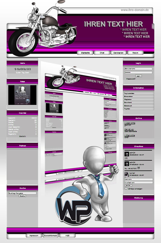 Ideal Standard: Bike Template-Pink 004_wp_bike_04