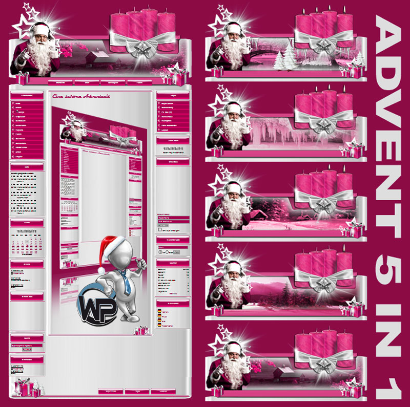 Advents Template 5in1 Template-Rosa 005_w-p_advent5in1