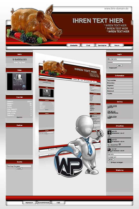 Ideal Standard: Partyservice Template-Rot 006_wp_partyservice_06