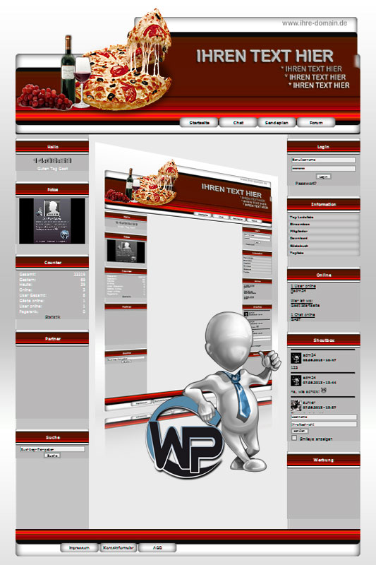Ideal Standard: Pizza Template-Rot 006_wp_pizza_06