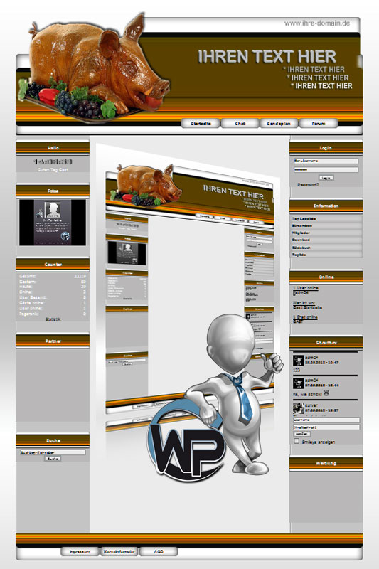 Ideal Standard: Partyservice Template-Orange 007_wp_partyservice_07