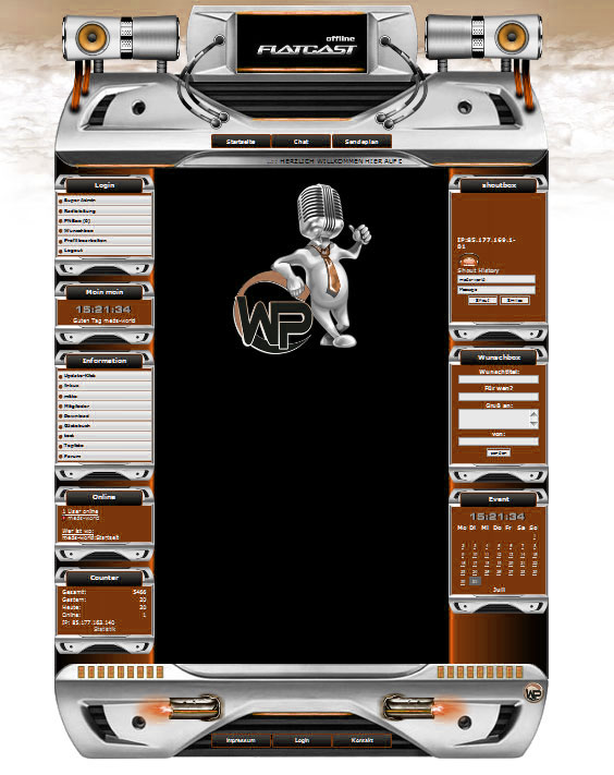 Robot Dream Template-Orange 007_wp_robot_dream