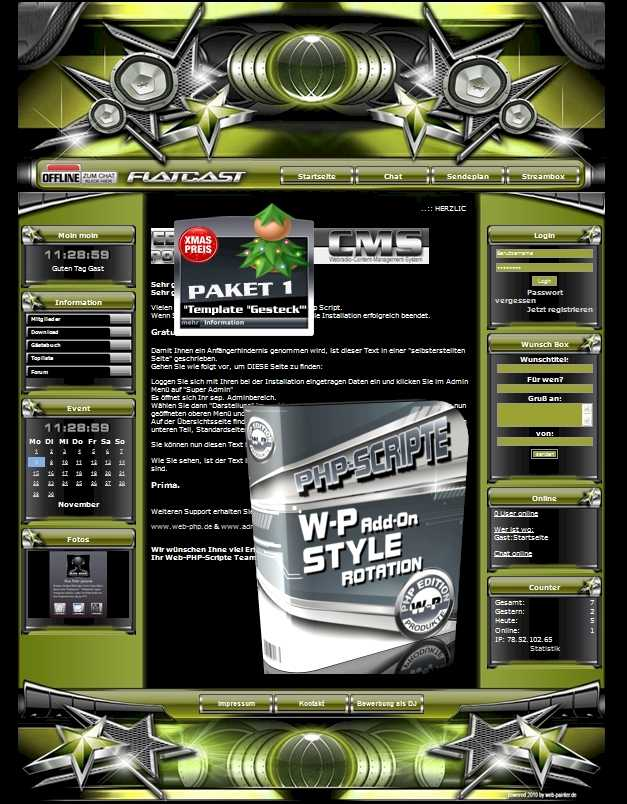 A Paket 1 - Template Gesteck  Template-Gelb 008_TG_set