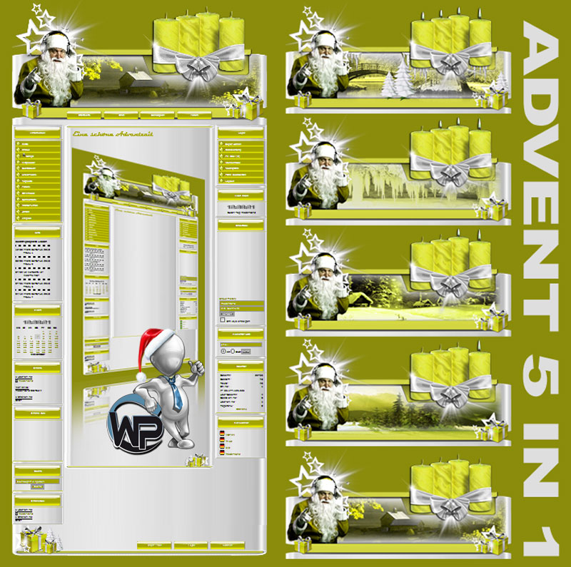 Advents Template 5in1 Template-Gelb 008_w-p_advent5in1