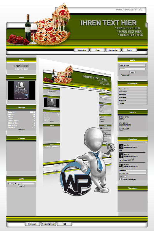 Ideal Standard: Pizza Template-Gelb 008_wp_pizza_08
