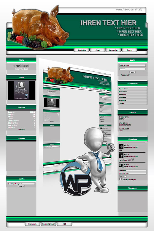 Ideal Standard: Partyservice Template-Patrol 011_wp_partyservice_11
