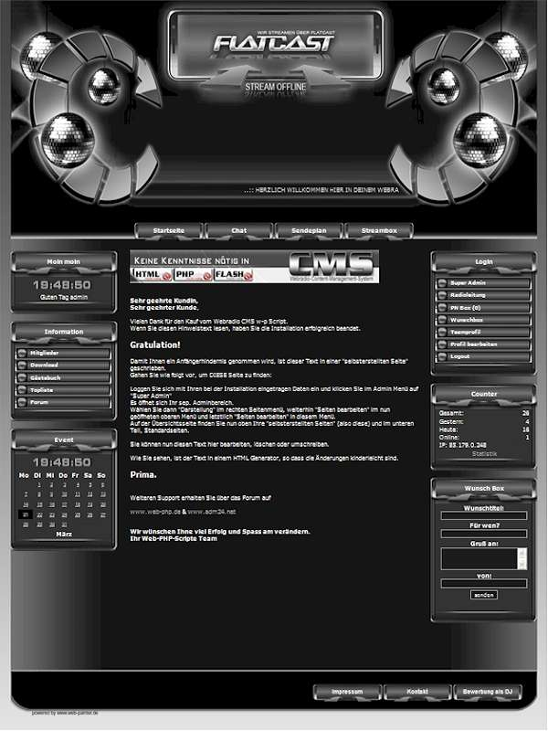 Disco Template-Graphit 013_disco_w-p