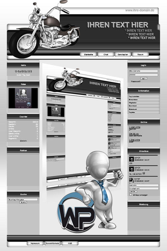 Ideal Standard: Bike Template-Graphit 013_wp_bike_13