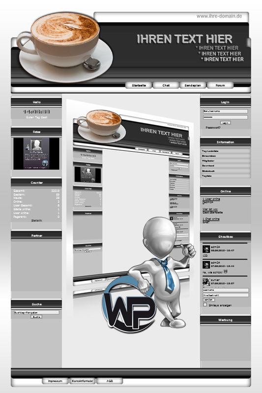 Ideal Standard: Kaffee Template-Graphit 013_wp_kaffee_13