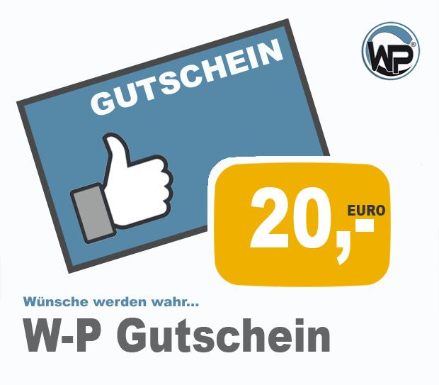 W-P Gutschein 20 PLUS