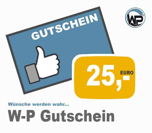 W-P Gutschein 25 PLUS