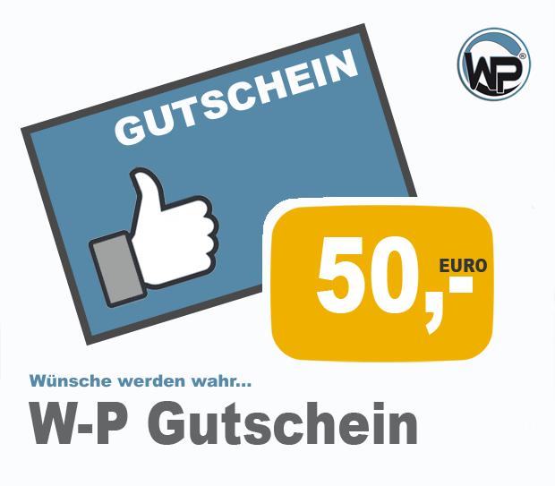 W-P Gutschein 50 PLUS