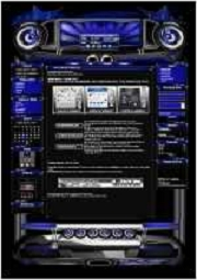 Beat Template-Lila-Blau 002
