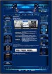 Turntable Template-Blau 001