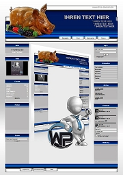 Ideal Standard: Partyservice Template-Blau 001_wp_partyservice_01