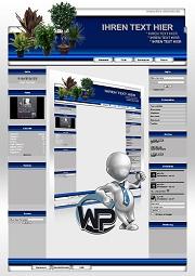 Ideal Standard: Pflanzen Template-Blau 001_wp_pflanzen_01