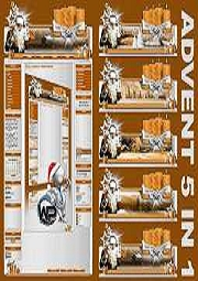 Advents Template 5in1 Template-Orange 007_w-p_advent5in1