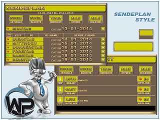 Sendeplan Template Template-Gelb 008_sendeplan_set05