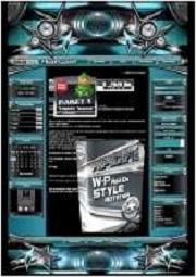 A Paket 1 - Template Gesteck  Template-Türkis 012_TG_set