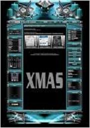 Weihnachts Set B Template-Türkis 012_x_mas2_12