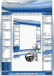 W-P Business Blue 1, Business-Template für das CMS Portal V2