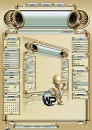 W-P Golden Eye, Musik-Template für das CMS Portal V2
