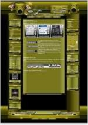 Music Template-Gelb 008