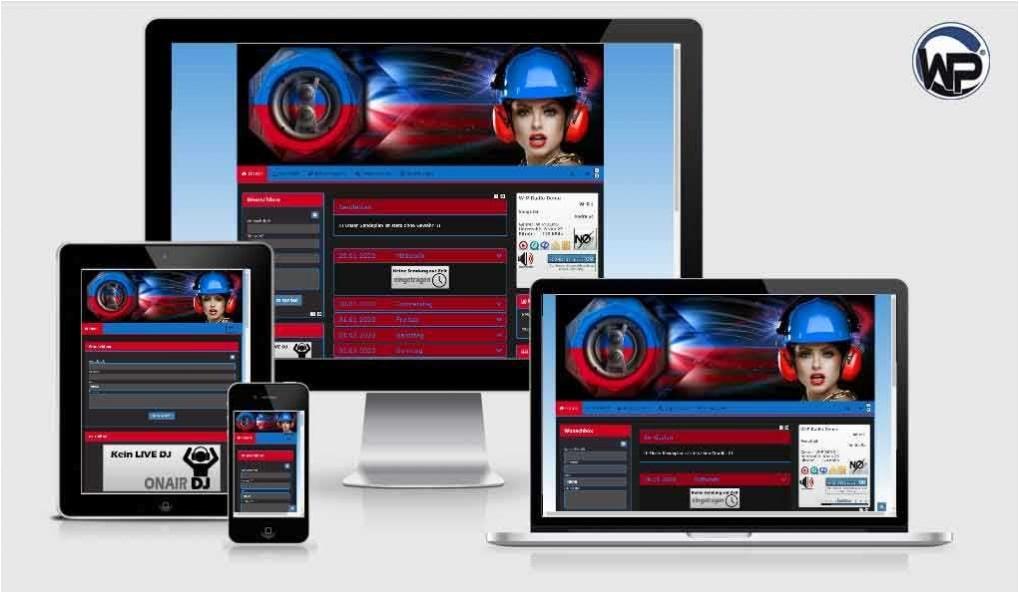 Radio Template Solo02 - CMS Portal Mobile