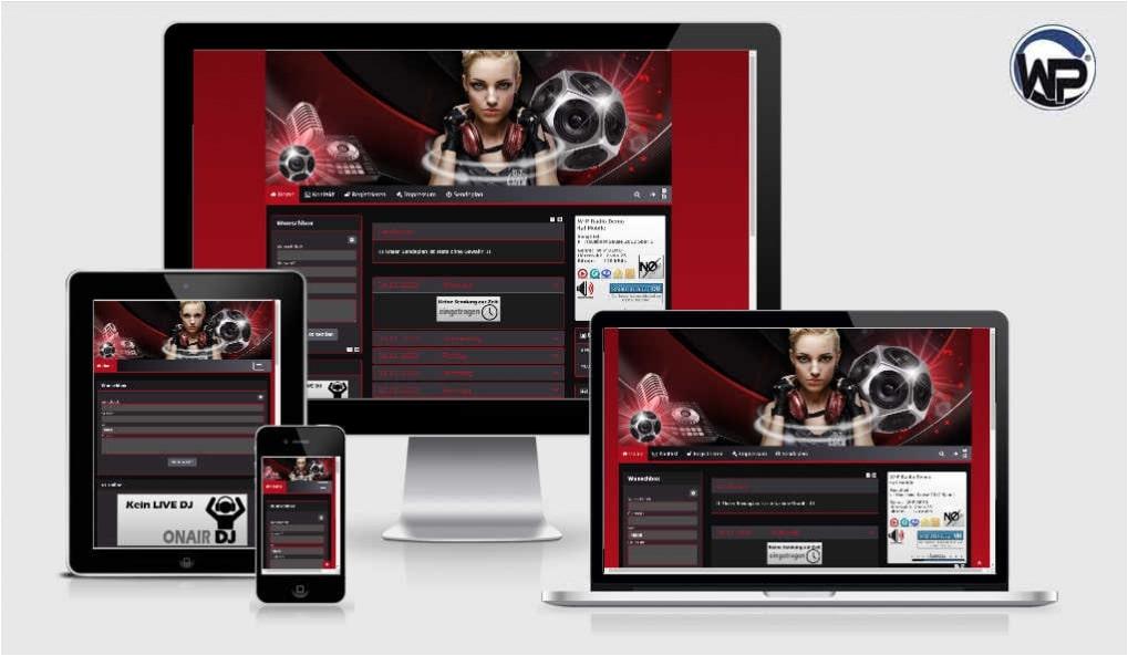 Radio Template Solo04 - CMS Portal Mobile