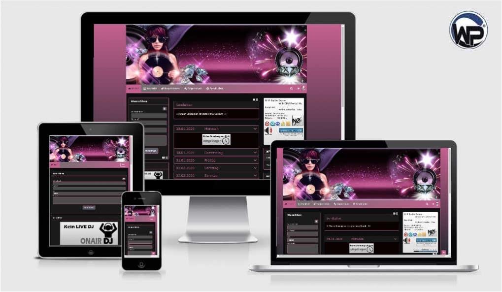 Radio Template Solo12 - CMS Portal Mobile