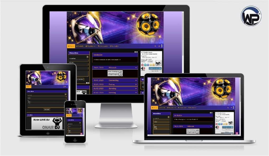 Radio Template Solo13 - CMS Portal Mobile