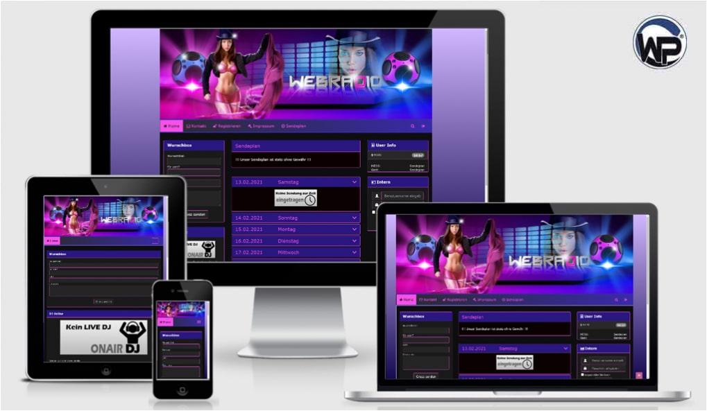 Radio Template Solo18 - CMS Portal Mobile
