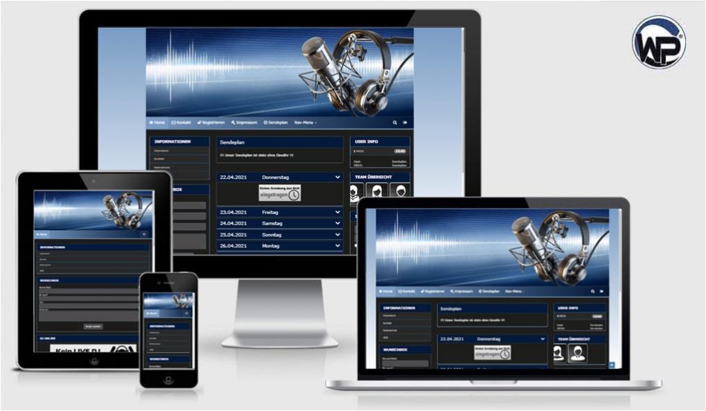 Radio Template Solo50 - CMS Portal Mobile