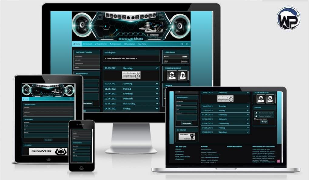 Radio Template Solo69 - CMS Portal Mobile